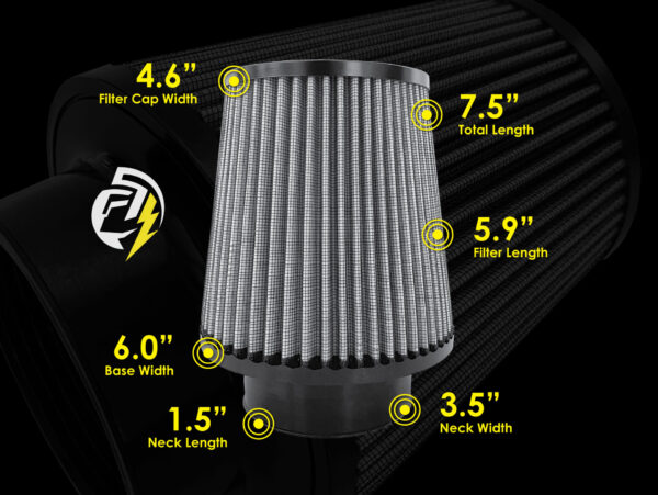 Air Filter Dimensions